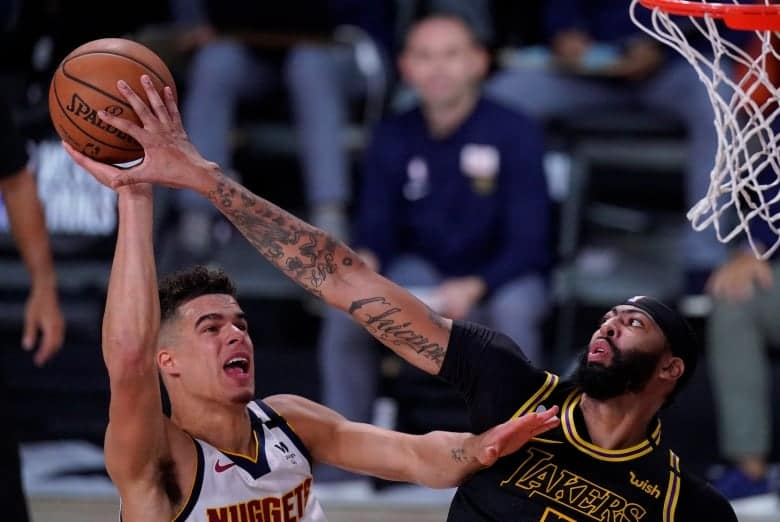 Anthony Davis hits buzzer-beater as Lakers foil Nuggets ...